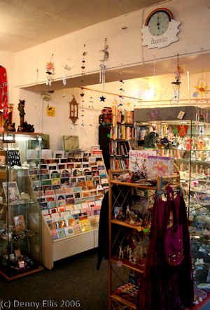 aquarius shop inside