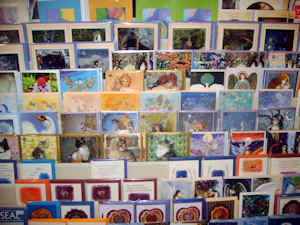 large range of cards