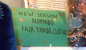 fair trade clothing from nomad